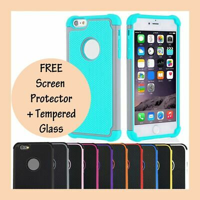 Shockproof Hard Heavy Duty Armor Shock Proof Cover Case for Apple iPhone 7 Plus