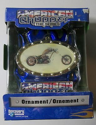 """American Choppers """"The Series"""" Holiday Ornament (Boxed) NEW"""