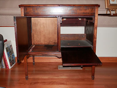 Vintage phonograph cabinet