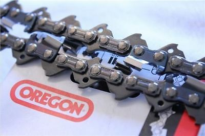 "2 x Brand New 14"" 14 inch Genuine OREGON Chainsaw Chain 52 Links 3/8LP .050"