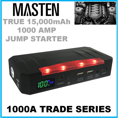 !900A Car Vehicle 12V Portable Emergency Jump Starter Battery Charger 20000mAh