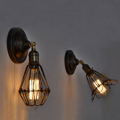 Retro Bedside Lamps Wall Lights Indoor Wall Light led Glass Wall Sconce