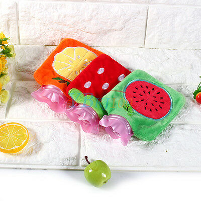 New Portable Mini Cartoon Winter Hot Water Bags Bottle Fluffy Plush Home Office