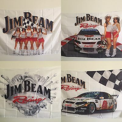 Jim Beam Racing Flags X 4