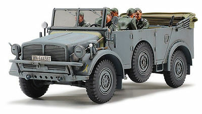 Tamiya 32586 1/48 German Transport Vehicle HORCH Type 1a w/ 6-Figure from Japan