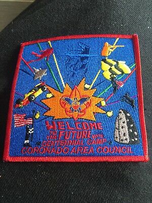 4 Inch Centennial Camp Coronado Area Council Embroidered Patch Sew On