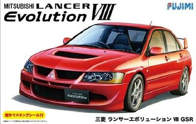 Fujimi ID-180 1/24 Mitsubishi LANCER EVOLUTION VIII GSR from Japan Rare