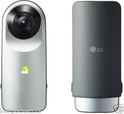 LG 360 CAM Spherical Camera wide angle 13MP Photos 2K Video LGR105 LG Friends