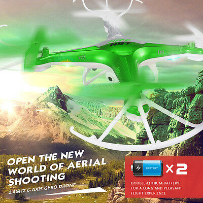 JJRC H97 Drone 2.4Ghz 4CH 6-Axis 3D-flip LED RC Quadcopter Helicopter w/ Camera