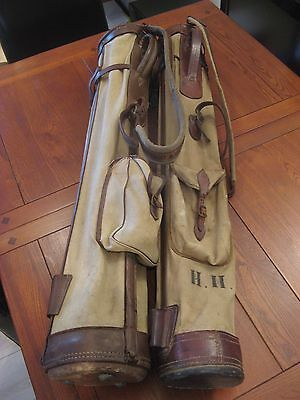 vintage golf Bags X 2 Suit Hickory Player