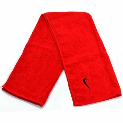 NIKE Solid Core Workout Cotton Towel 35x80cm , Red
