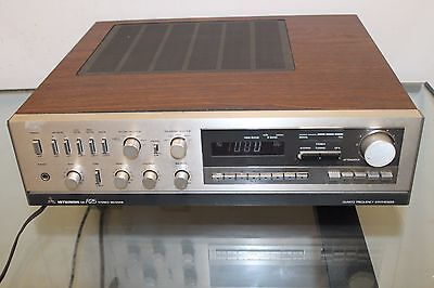 VINTAGE MITSUBISHI DA-R25 STEREO RECEIVER AMPLIFIER FOR parts