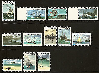 1976 *MNH* Ships Associated with Cocos (Keeling) Islands Definitive COMPLETE SET