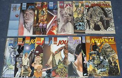 17 x STAR WARS JOURNAL OF THE WHILLS