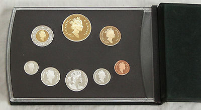 2002 Canada 'golden Jubilee' .925 Silver *special Edition* 8 Coin Proof Set