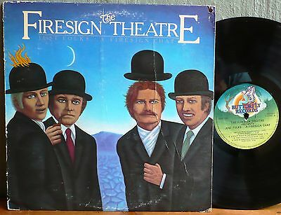 The Firesign Theatre  Just Folks... A Firesign Chat. 1977 U.S. pressing LP