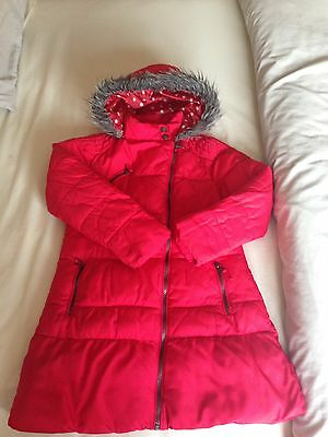 Next Age 9-10 Red Girls Coat