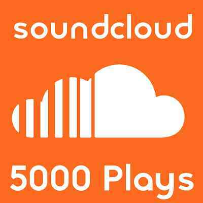 5000 Sound Cloud Plays - Soundcloud Plays On Any Track - FAST & 100% SAFE