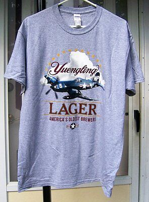 Yuengling Lager Beer We Support Out Troops Tee Shirt BRAND NEW L, XL or XXL PA