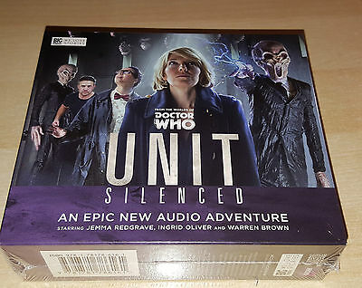 Doctor Who UNIT Silences Box Set - Audio Drama - NEW & SEALED