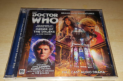 Doctor Who - ORDER OF THE DALEKS - Big Finish Audio Drama - NEW & SEALED