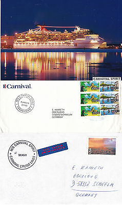 Panama Cruise Ship Ms Carnival Spirit 2 Ships Cached Covers & A Photograph