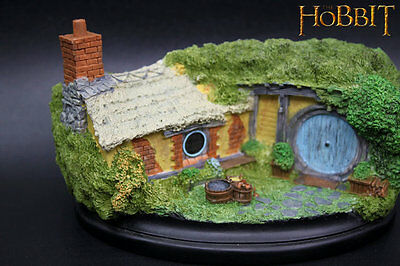 New Rings Hobbit Hole 35 Bagshot Row Resin Color Painted Sculpture Recast