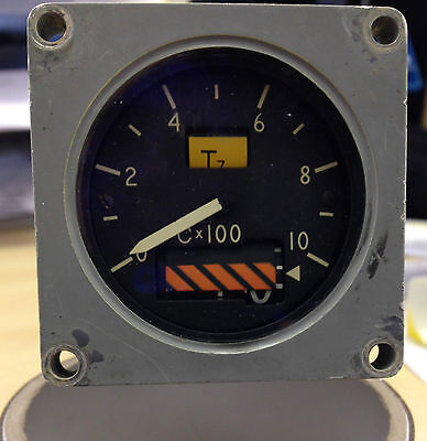 RAF Aircraft  Tornado F3 RAF LV Cockpit Engine Temperature Indicator