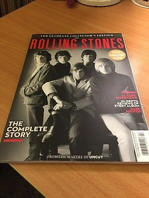 ROLLING STONES THE COMPLETE STORY ULTIMATE COLLECTORS EDITION MAGAZINE BY Uncut