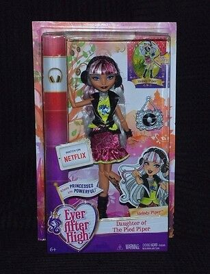 Ever After High melody Piper Doll - Daughter of the Pied Piper BNIB