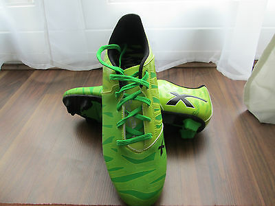X-Blades Wild Thing Cyber Green Rugby/Football Boots - UK Size 13 (worn twice)