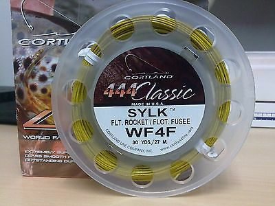 Cortland 444 Classic Sylk Floating Bamboo Fly Line  WF4F & WF6F available