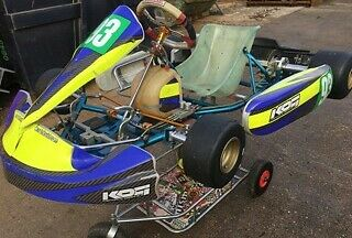 Tony kart rolling chassis 2014 EVK x30 rotax Kart iame Clean Straight & Tidy