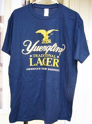 Yuengling Lager Beer Support Your Local Police Tee Shirt BRAND NEW L or XL PA
