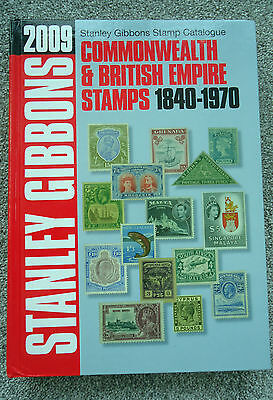 Stanley Gibbons stamp catalogue 2009 Commonwealth & British stamps 1840-1970