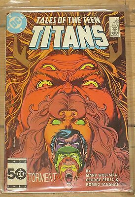 Tales of the Teen Titans DC Comics March 1986 used