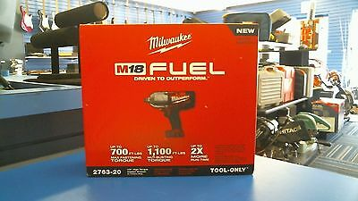 """NEW Milwaukee 2763-20 M18 FUEL™ 1/2"""" High Torque Impact Wrench w/ Friction Ring"""