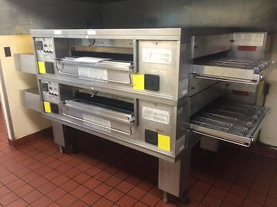 Middleby Marshall PS-570-S Double Stack Conveyor Pizza Ovens From Pizza Hut