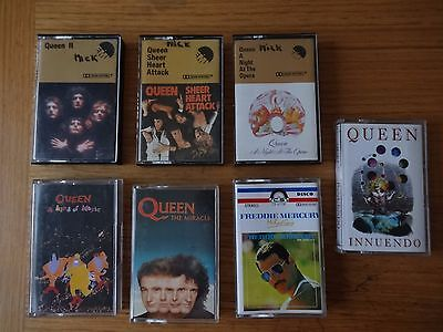 Collection of 7- QUEEN -  audio cassette