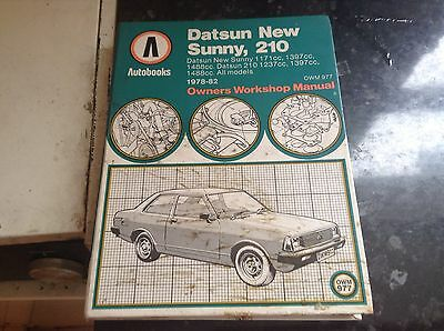 Datsun New Sunny 210 Owners Workshop Manual 1978-82