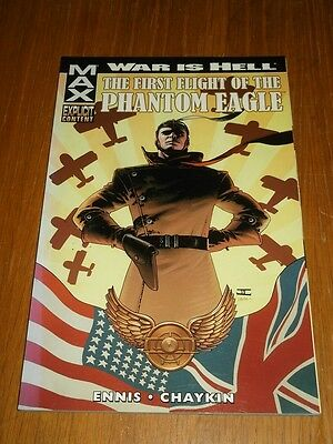 War is Hell First Flight of the Phantom Eagle Marvel (Paperback)< 9780785132240