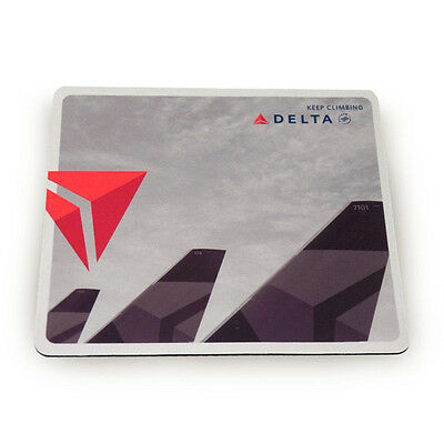 DELTA Air Lines Aircraft Tails Computer Mouse Pad New Logo New Widget Tails