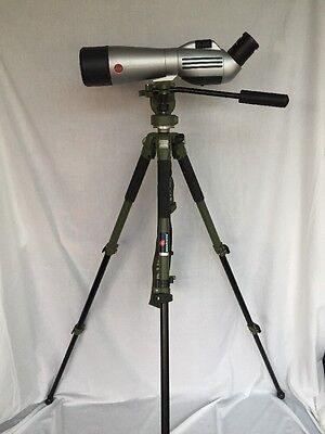 Leica APO Televid 77 Scope with Stay-On Padded Case, Arena Pro Tripod & Leica 20