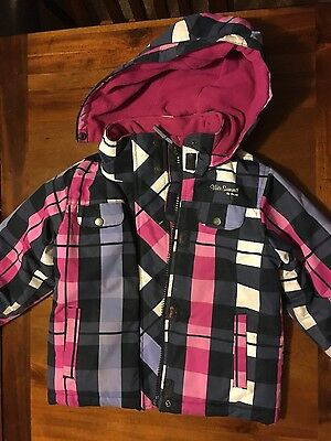 girls 4 to 6 years winter snow jackets