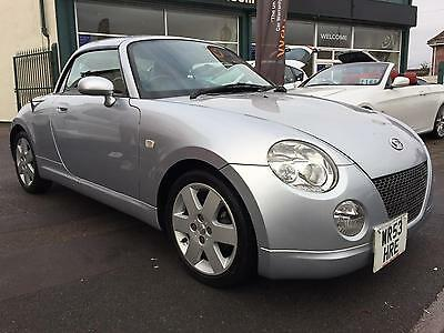 """2003 53 Daihatsu Copen 0.66 Roadster RED LEATHER 1 OWNER """"27 SERVICES"""""""