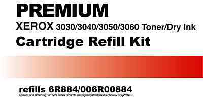 Toner Refill Kit for Xerox 3030 3040 3050 3060 6R884 006R00884
