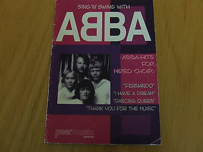 ABBA Hits for Mixed Choir Partitur