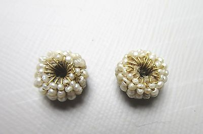 Antique Mughal Indian Beads Pearl and Gold