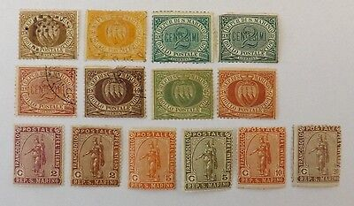 San Marino, used & mounted mint stamps (1877 onwards)