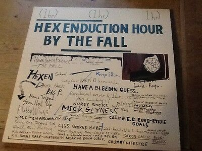 The Fall.  Hex Enduction Hour. Vinyl And Cover In Near Mint Condition
